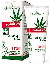 Парфюми, Парфюмерия, козметика Успокояващ крем за сърбеж, чувствителност и възпаление на кожата - Cannaderm Robatko