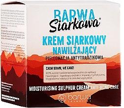 Парфюми, Парфюмерия, козметика Дълбоко овлажняващ крем със сяра за лице - Barwa Sulphuric Cream Prolonged Moisturising