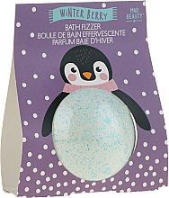 "Парфюми, Парфюмерия, козметика Бомбичка за вана ""Пингвин"" - Mad Beauty I Love Christmas Bath Fizzer Penguin"