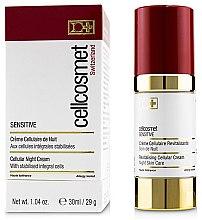 Парфюми, Парфюмерия, козметика Нощен клетъчен крем за чувствителна кожа - Cellcosmet Sensitive Night Cream