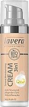Парфюмерия и Козметика Овлажняващ тонален крем - Lavera Tinted Moisturizing Cream 3-in-1 Q10