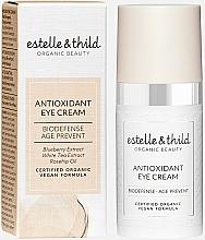 Парфюмерия и Козметика Антиоксидантен крем за околоочния контур - Estelle & Thild Biodefense Antioxidant Eye Cream