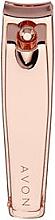 Парфюмерия и Козметика Нокторезачка, розово злато - Avon Rose Gold Nail Clippers