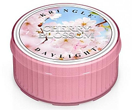 Парфюмерия и Козметика Ароматна чаена свещ - Kringle Candle Daylight Cherry Blossom