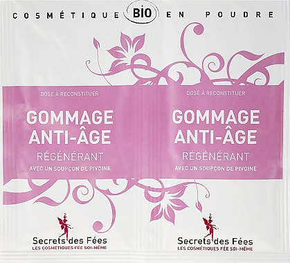 Скраб за лице против стареене - Secrets des Fees Scrub — снимка N1