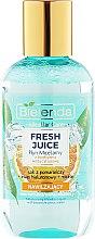 "Парфюмерия и Козметика Мицеларна вода за лице ""Портокал"" - Bielenda Fresh Juice Micellar Water Orange"