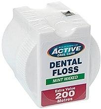Парфюми, Парфюмерия, козметика Зъбен конец с аромат на мента - Beauty Formulas Active Oral Care Dental Floss Mint Waxed 200m