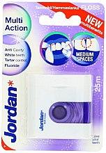 Парфюми, Парфюмерия, козметика Конец за зъби с флуорид - Jordan Multi Action Floss