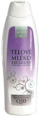 Лосион за тяло - Bione Cosmetics Exclusive Organic Body Lotion With Q10 — снимка N1