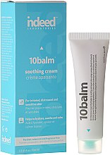 Парфюми, Парфюмерия, козметика Успокояващ крем за лице - Indeed Labs 10 Balm Soothing Cream