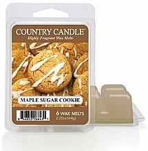 Парфюмерия и Козметика Ароматен восък - Country Candle Maple Sugar Cookie Wax Melts