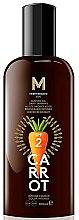 Парфюми, Парфюмерия, козметика Масло за тен - Mediterraneo Sun Carrot Suntan Oil Dark Tanning SPF2
