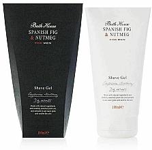 Парфюмерия и Козметика Bath House Spanish Fig and Nutmeg - Гел за бръснене