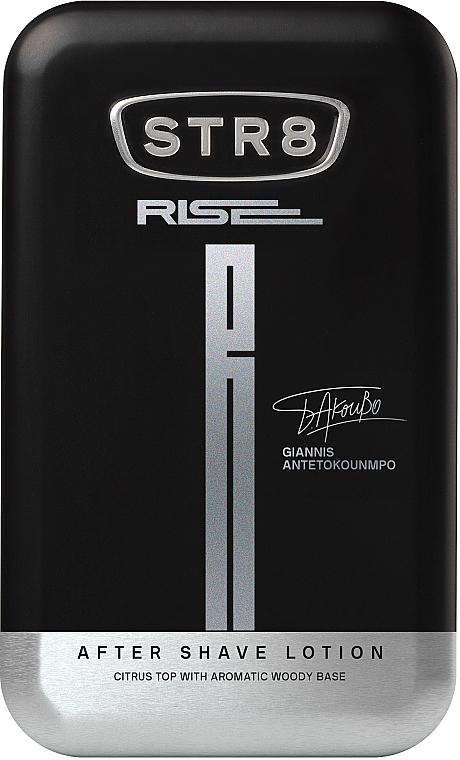 STR8 Rise - Комплект (афтър. лосион/50ml + део/150ml + душ гел/250ml) — снимка N4