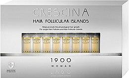 Парфюмерия и Козметика Ампули за стимулиране на растежа на косата за жени 1900 - Labo Crescina Hair Follicular Island 1900 Woman