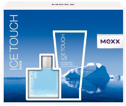 Mexx Ice Touch Man - Комплект (edt/30ml + sh/gel/50ml) — снимка N1