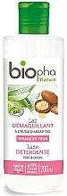 Парфюми, Парфюмерия, козметика Мляко за премахване на грим за суха и нормална кожа - Biopha Cleansing Milk