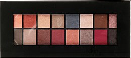 Парфюмерия и Козметика Палитра сенки за очи, 16 цвята - Aden Cosmetics Eyeshadow Palette