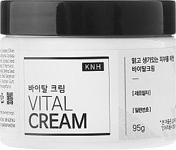 Парфюмерия и Козметика Хидратиращ крем за лице със секрет от охлюв - KNH Vital Cream