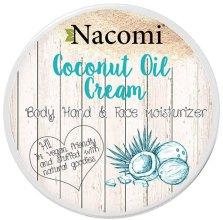 Парфюми, Парфюмерия, козметика Кокосов крем за лице и тяло - Nacomi Coconut Cream