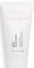 Парфюмерия и Козметика Почистващо средство за лице с кал - Revolution Skincare Glycolic Acid AHA Glow Mud Cleanser