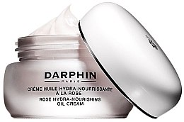 Парфюмерия и Козметика Подхранващ крем-масло за суха кожа - Darphin Rose Hydra-Nourishing Oil Cream