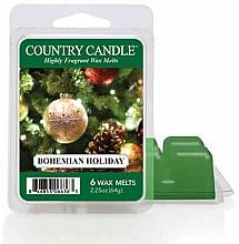 Парфюмерия и Козметика Ароматен восък - Country Candle Bohemian Holiday Wax Melts