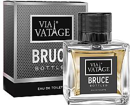 Парфюмерия и Козметика Via Vatage Bruce Bottled - Тоалетна вода