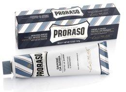 Парфюми, Парфюмерия, козметика Крем за бръснене с алое и витамин Е - Proraso Blue Shaving Cream