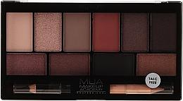 Парфюмерия и Козметика Палитра сенки за очи - MUA Elysium Eyeshadow Palette