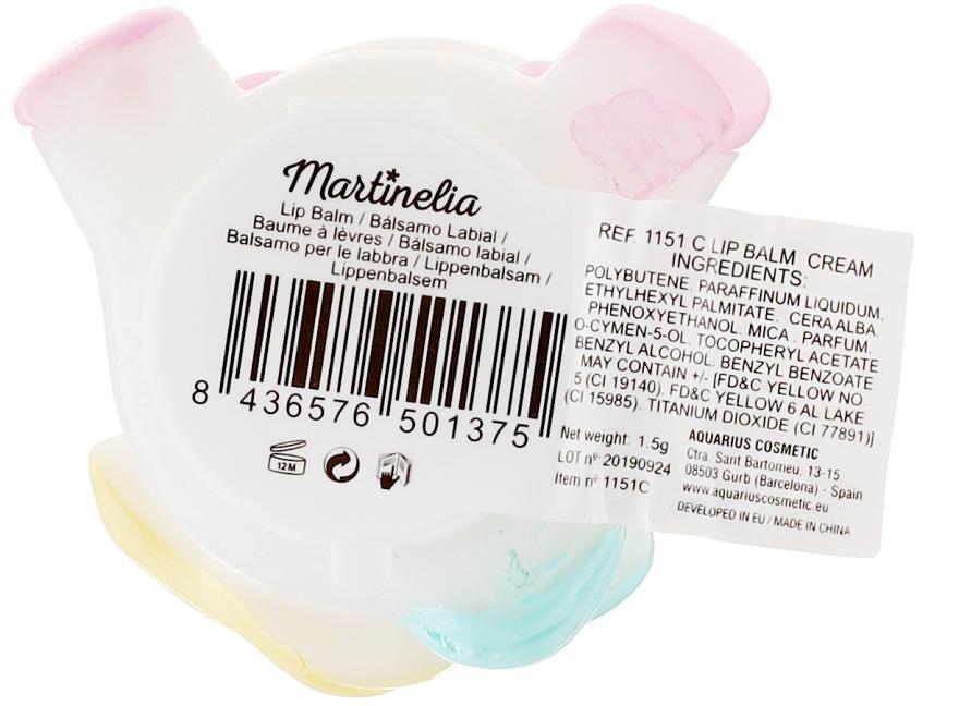 """Балсам за устни с аромат на слива """"Еднорог"""" - Martinelia Big Unicorn Lip Balm Cream — снимка N3"""