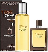 Парфюмерия и Козметика Hermes Terre D'Hermes Eau Intense Vetiver - Комплект (парф. вода/30 ml + парф. вода/125 ml)