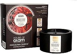Парфюми, Парфюмерия, козметика Ароматна свещ - House of Glam Mohogany & Teakwood Candle