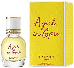 Парфюмерия и Козметика Lanvin A Girl in Capri - Тоалетна вода (мини)