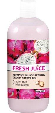 Душ гел-крем с екстракт от питая и макадамия - Fresh Juice Energy Mix Dragon Fruit & Macadamia — снимка N3