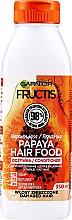 Парфюмерия и Козметика Възстановяващ балсам за увредена коса с папая - Garnier Fructis Superfood