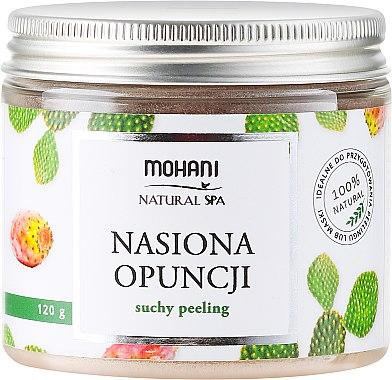 Сух пилинг със семена от опунция - Mohani Opuntia Ficus Dry Peeling