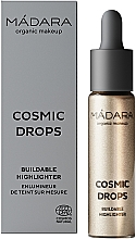 Парфюмерия и Козметика Хайлайтър - Madara Cosmetics Cosmic Drops Buildable Highlighter