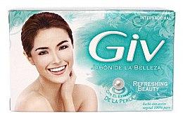 Парфюмерия и Козметика Освежаващ сапун - Giv Beauty Soap Refreshing