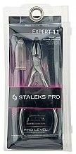 Парфюмерия и Козметика Клещи за кожички NE-11-15 - Staleks Pro Expert