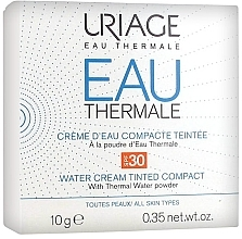 Парфюмерия и Козметика Компактна крем-пудра за лице - Uriage Eau Thermale Water Tinted Cream Compact SPF30