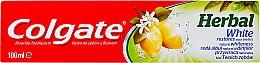 Парфюмерия и Козметика Избелваща паста за зъби - Colgate Herbal White With Lemon Oil
