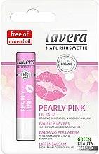 Парфюмерия и Козметика Балсам за устни - Lavera Pearly Pink Lip Balm