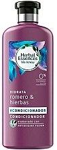 Парфюмерия и Козметика Хидратиращ балсам за коса с розмарин и билки - Herbal Essences Rosemary & Herbs Conditioner