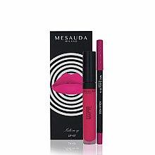 Парфюмерия и Козметика Комплект - Mesauda Milano Lip Kit (червило/7ml + молив за устни/1.14g)