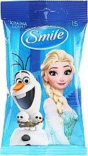 "Парфюми, Парфюмерия, козметика Мокри кърпички ""Frozen"", 15бр, Олаф и Елза - Smile Ukraine Disney"
