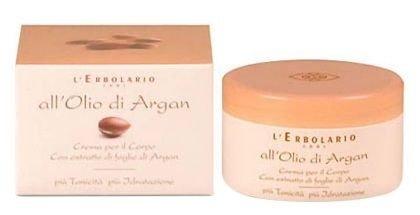 Крем для тела с маслом аргании - L'Erbolario Crema All Olio Di Argan (мини) — снимка N1