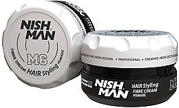 Парфюмерия и Козметика Стилизираща помада за коса - Nishman Hair Styling Fibre Cream