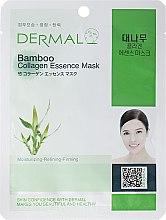 Парфюми, Парфюмерия, козметика Маска за лице с колаген и екстракт от бамбук - Dermal Bamboo Collagen Essence Mask