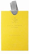 Парфюмерия и Козметика Освежител за гардероб - Acca Kappa Green Mandarin Wardrobe Freshener